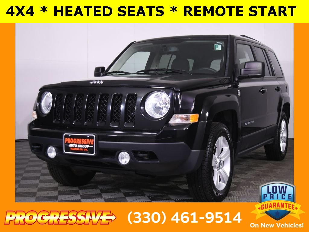 Pre-Owned 2014 Jeep Patriot Latitude 4D Sport Utility in