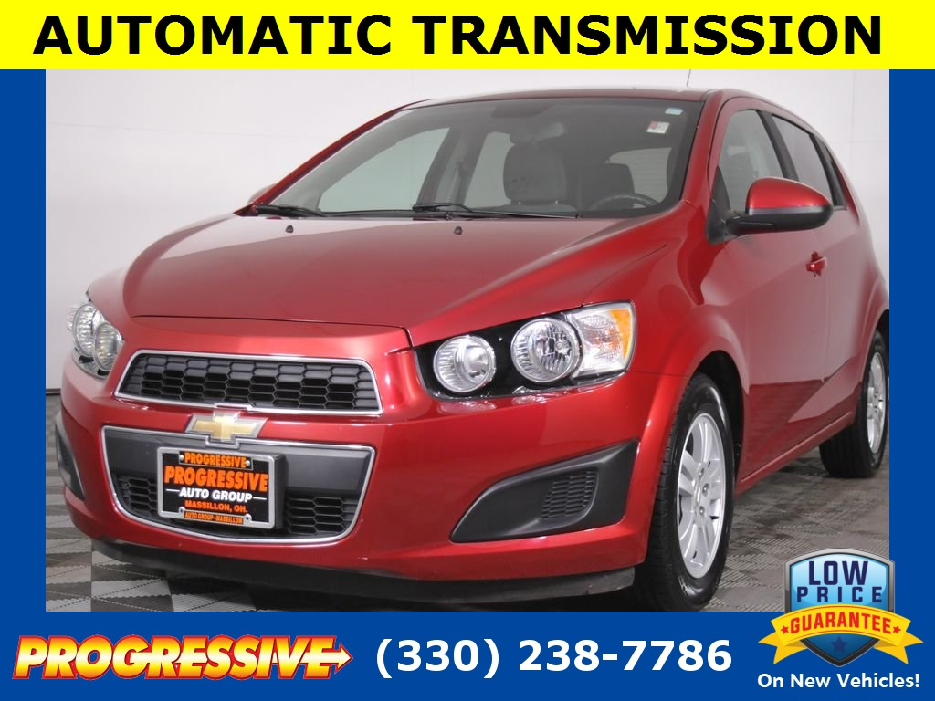 Pre-Owned 2012 Chevrolet Sonic 2LS